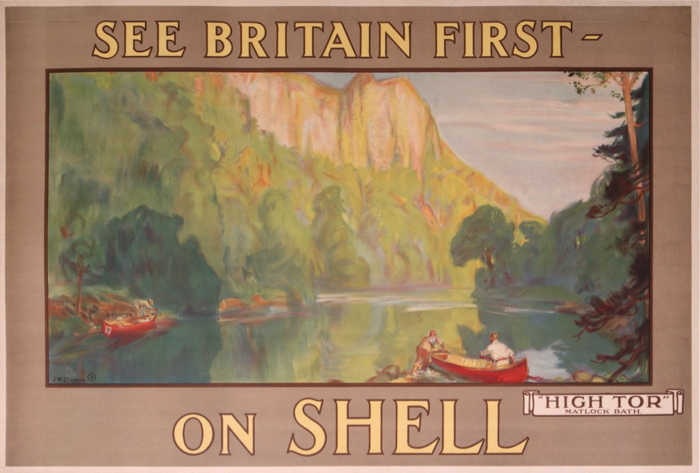 For sale: SHELL SEE BRITAIN FIRST ON SHELL HIGH TOR MATLOCK BATH