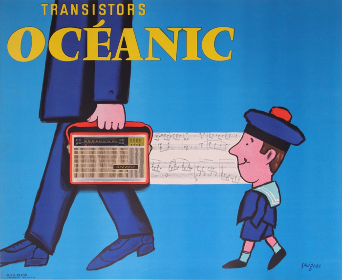 For sale: OCEANIC TRANSISTORS