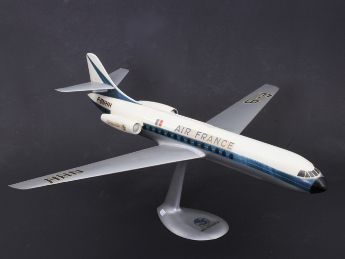 For sale: AIR FRANCE CARAVELLE MAQUETTE D'AGENCE METAL