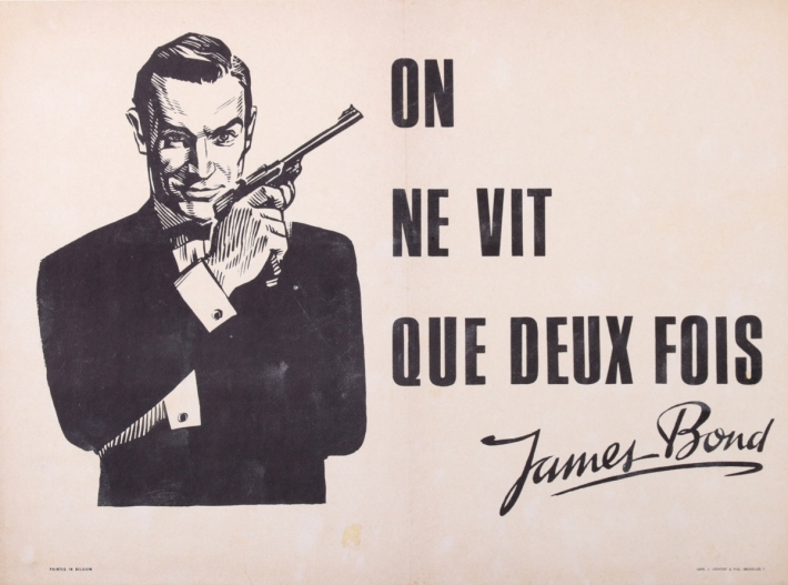 For sale: JAMES BOND - ON NE VIT QUE DEUX FOIS