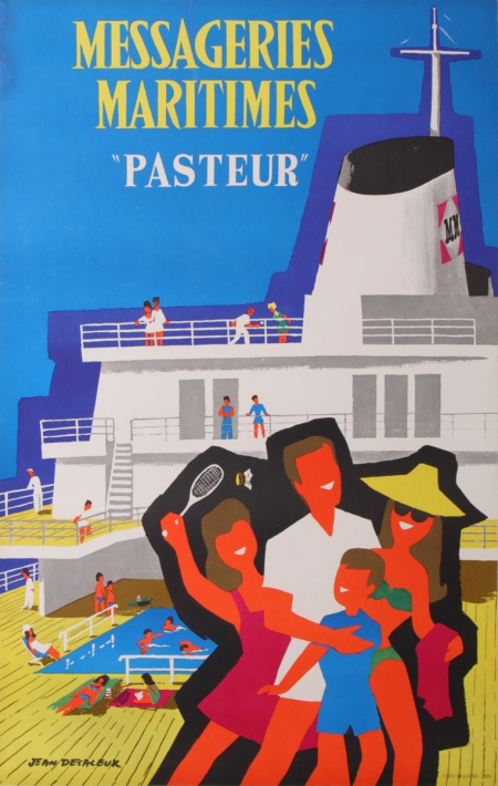 For sale: MESSAGERIES MARITIMES - PASTEUR