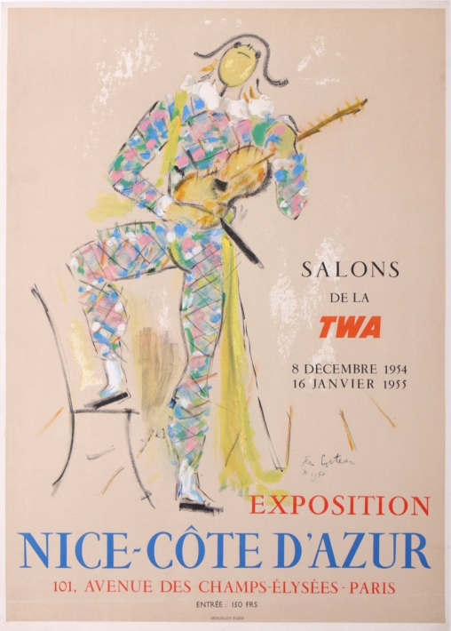 For sale: SALONS TWA EXPOSITION NICE COTE D'AZUR