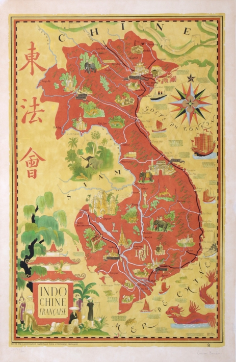 For sale: INDOCHINE FRANCAISE Cartographie