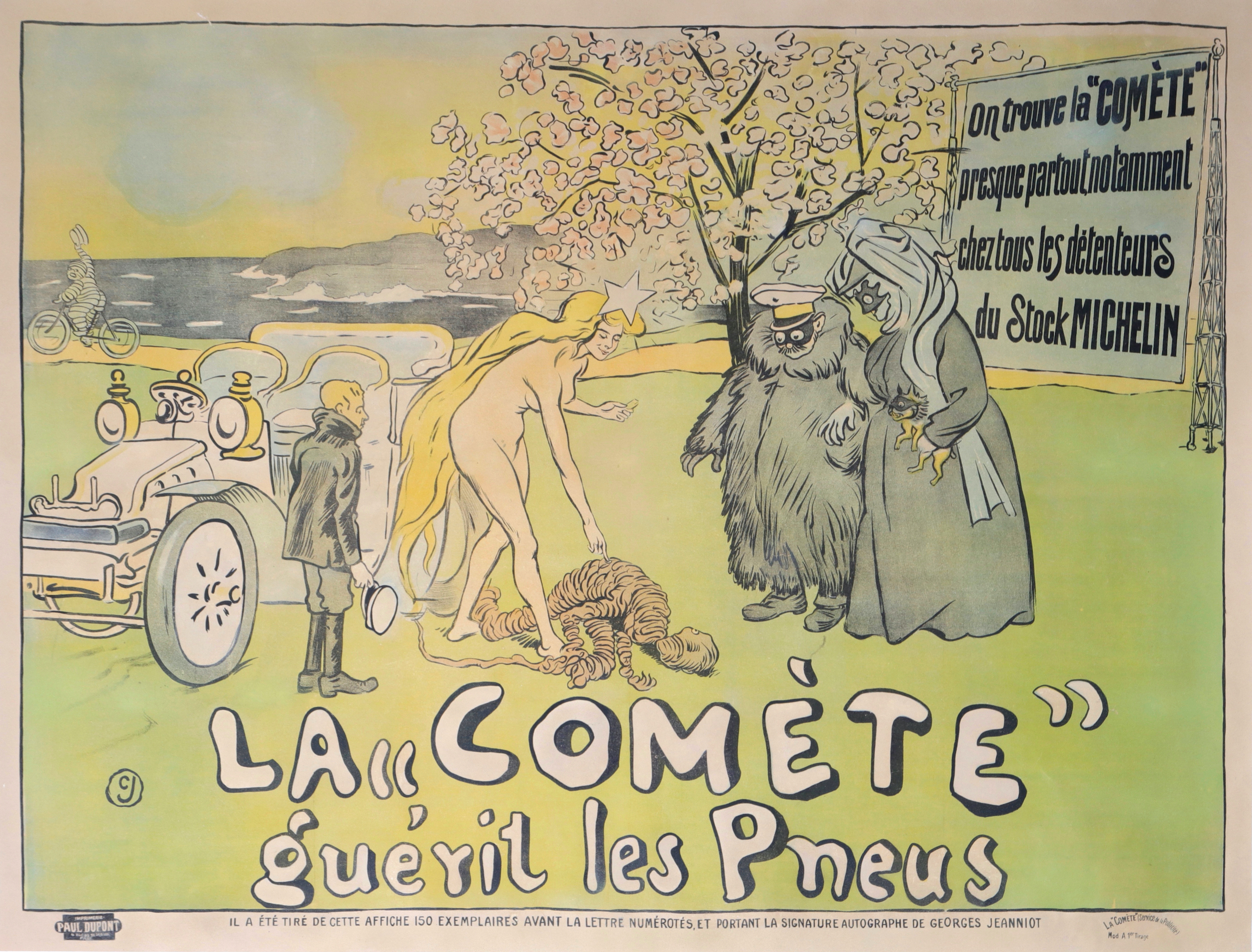 For sale: LA COMETE GUERIT LES PNEUS - BIBENDUM MICHELIN
