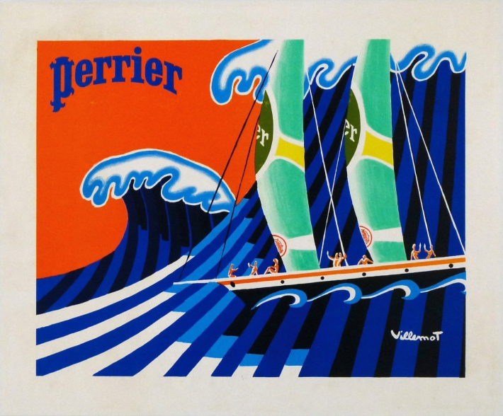 For sale: PERRIER - SURFS THE WAVE