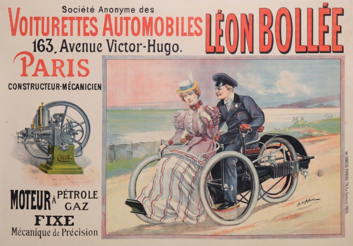 For sale: AUTOMOBILES LEON BOLLEE