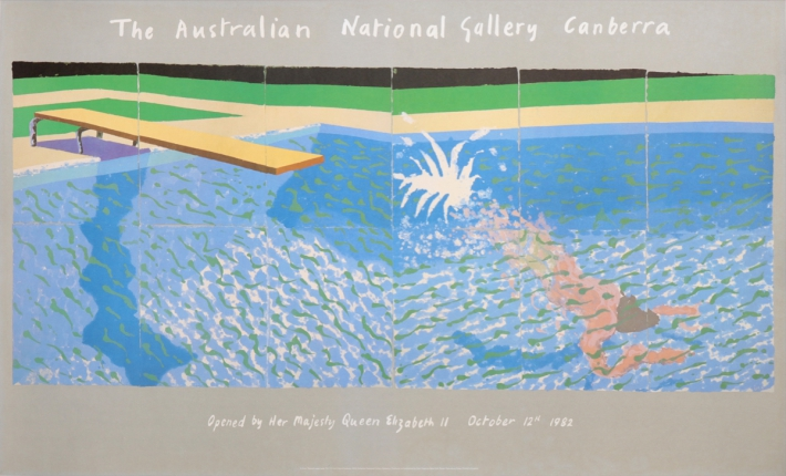 For sale: DAVID HOCKNEY THE AUSTRALIAN NATIONAL GALLERY CANBERRA