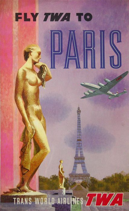 For sale: FLY TO TWA to PARIS
