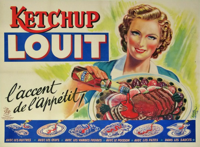 For sale: KETCHUP LOUIT - L ACCENT DE L APPETIT !