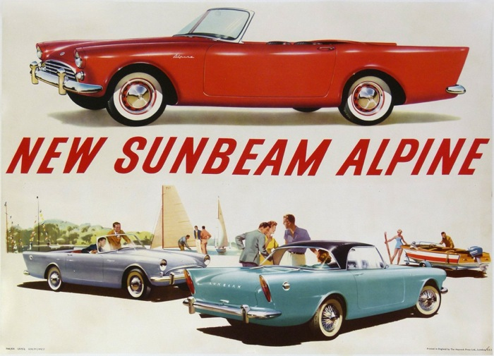 For sale: NEW SUNBEAM ALPINE