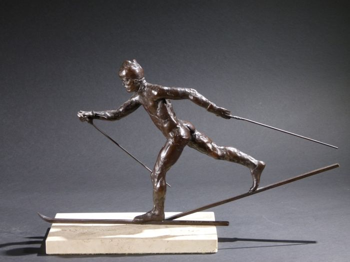 For sale: SKIEUR DE FOND The Lord Constantine Collection-CROSS COUNTRY SKIER