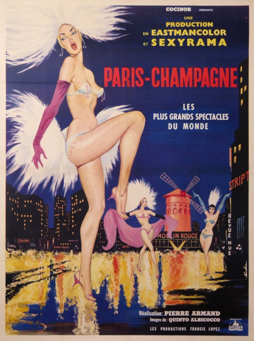For sale: PARIS CHAMPAGNE Moulin Rouge - par Albicocco