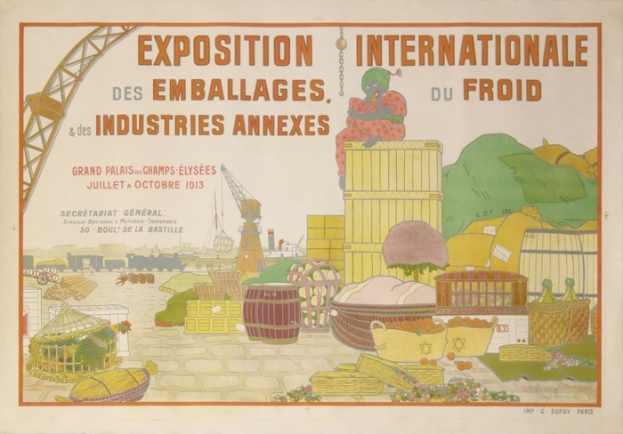 For sale: EXPOSITION INTERNATIONALE DES EMBALLAGES DU FROIS ET DES INDUSTRIES ANNEXES