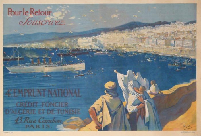 For sale: POUR LE RETOUR 4eme EMPRUNT NATIONAL CREDIT FONCIER D ALGERIE ET DE TUNISIE
