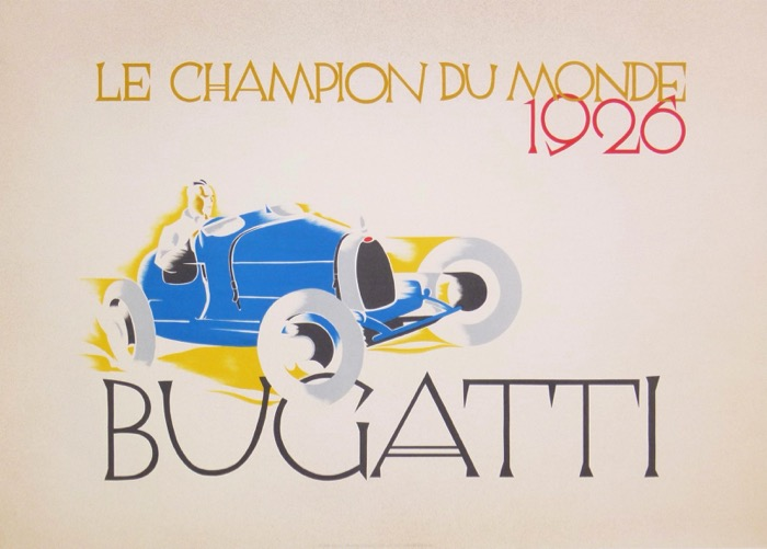 For sale: BUGATTI CHAMPION DU MONDE