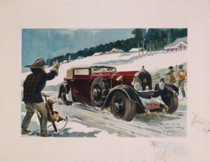 For sale: RALLYE MONTE CARLO SUEDE 1932