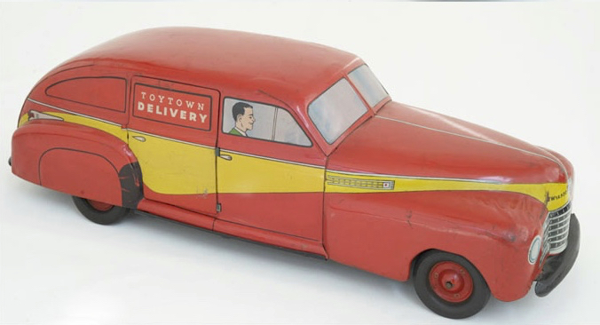 For sale: TOYTOWN DELIVERY  WY-1010 CAR TOY