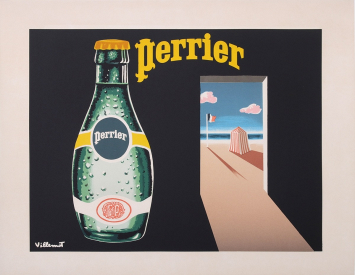 For sale: PERRIER THE FRENCH BEACH BUBBLE WATER