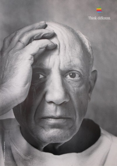 For sale: APPLE PABLO PICASSO THINK DIFFERENT