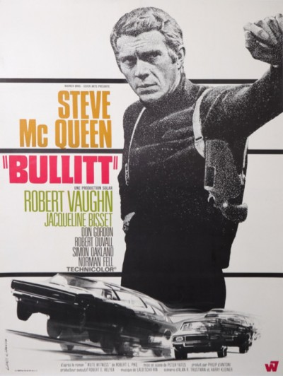 For sale: BULLITT STEVE McQUEEN BIG SIZE