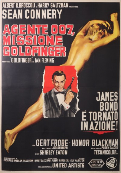 For sale: JAMES BOND MISSIONE GOLDFINGER AGENTE 007 SEAN CONNERY  ITALIAN VERSION