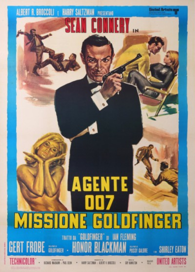 For sale: JAMES BOND AGENTE 007 FILM MISSIONE GOLDFINGER
