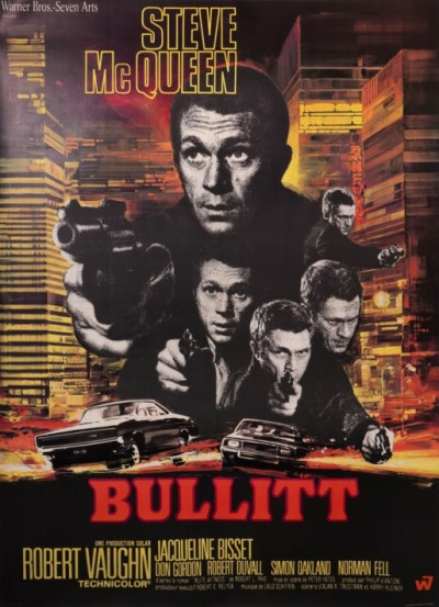 For sale: BULLIT   STEVE MAC QUEEN ROBERT VAUGHN JACQUELINE BISSET