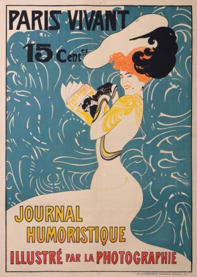 For sale: PARIS VIVANT JOURNAL HUMORISTIQUE  ILLUSTRÉ PAR LA PHOTOGRAPHIE 15 Cts
