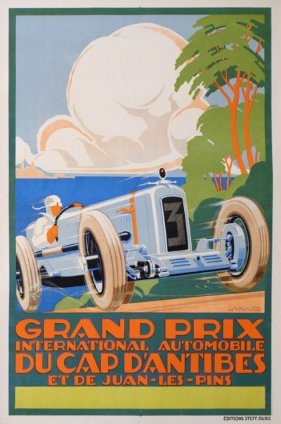 For sale: GRAND PRIX INTERNATIONAL AUTOMOBILE DU CAP D'ANTIBES - JUANS LES PINS