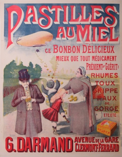 For sale: PASTILLEs AU MIEL G. DARMAND CLERMONT-FERRAND