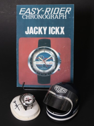 For sale: HEUER CHRONOGRAPH EASY-RIDER JACKY ICKX  - montre