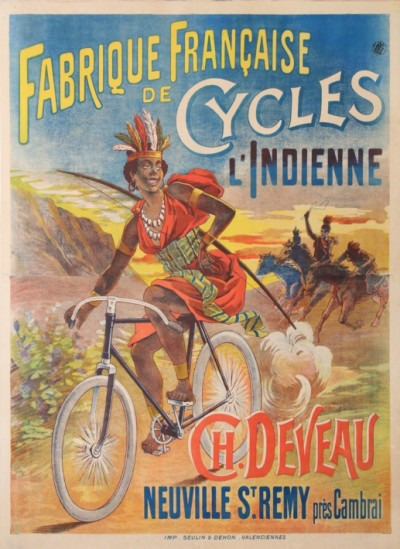 For sale: L'INDIENNE FABRIQUE DE CYCLE FRANCAISE NEUVILLE St REMY près CAMBRAI