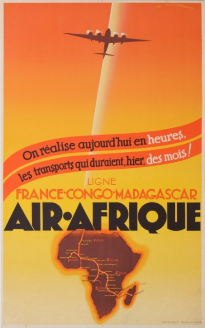 For sale: AIR AFRIQUE FRANCE-CONGO-MADAGASCAR