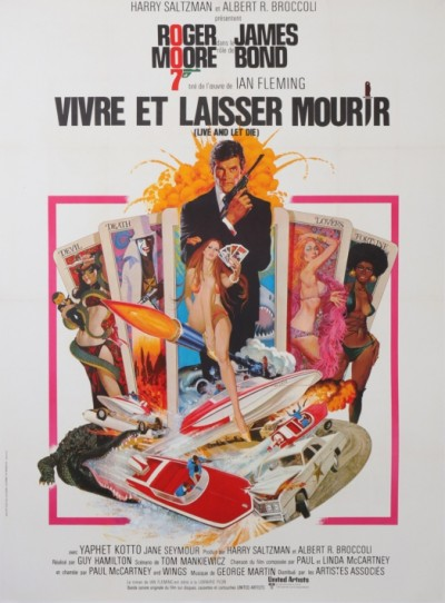 For sale: JAMES BOND 007 VIVRE ET LAISSER MOURIR  ROGER MOORE