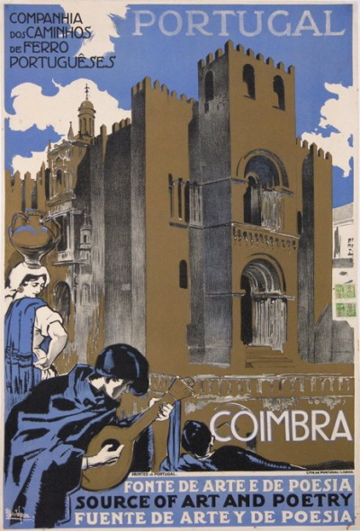 For sale: PORTUGAL COIMBRA SOURCE OF ART AND POETRY