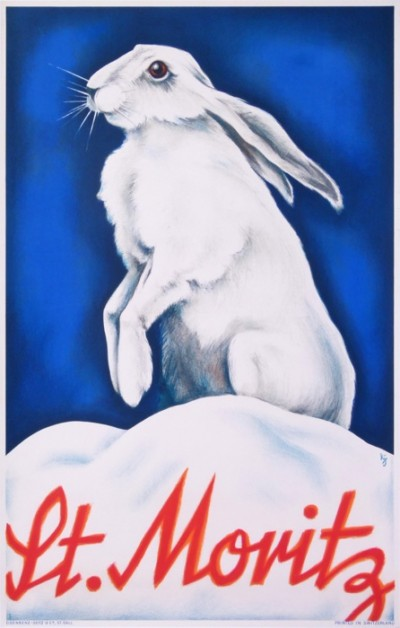 For sale: ST MORITZ - LE LAPIN - THE RABBIT