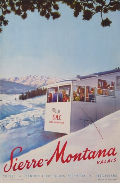 For sale: SIERRE-MONTANA VALAIS SUISSE SKI