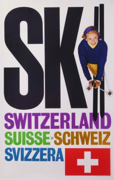 For sale: SKI SWITZERLAND SUISSE SCHWEIZ