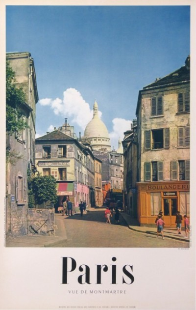 For sale: PARIS VUE DE MONTMARTRE