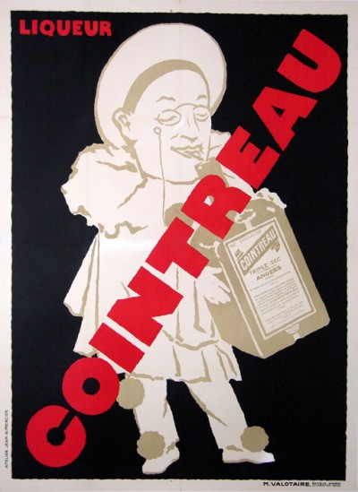 For sale: VINTAGE POSTER about LIQUEUR COINTREAU