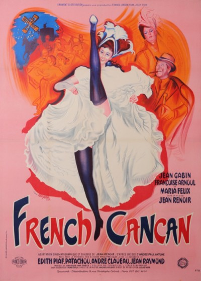For sale: FRENCH CANCAN-FILM DE JEAN RENOIR