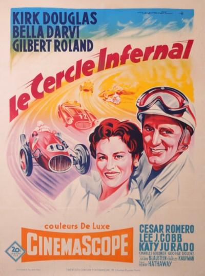 For sale: LE CERCLE INFERNAL CINEMASCOPE KIRK DOUGLAS