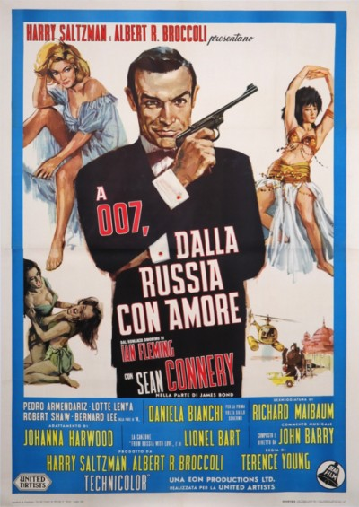 For sale: JAMES BOND 007 DALLA RUSSIA CON AMORE
