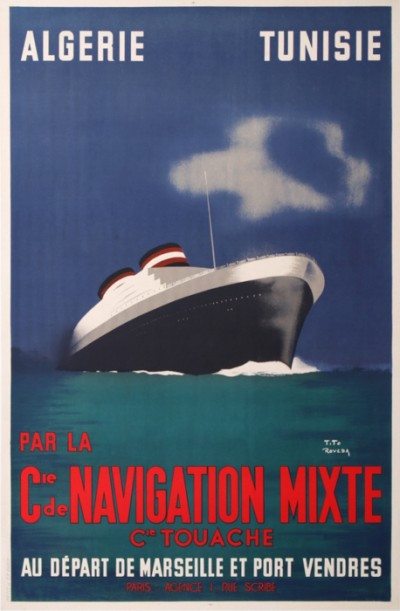 For sale: Cie Gle DE NAVIGATION MIXTE Cie TOUACHE ALGERIE TUNISIE