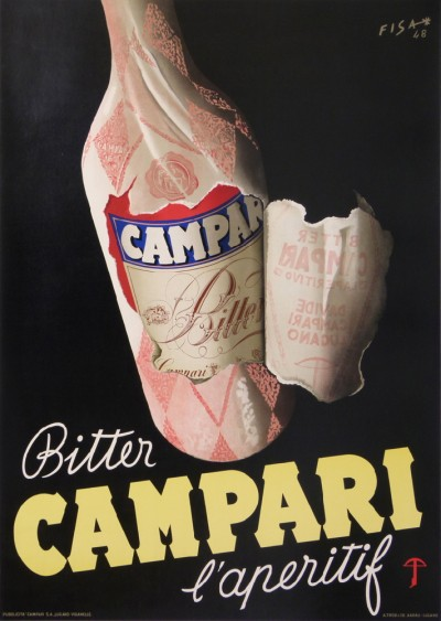 For sale: BITTER CAMPARI L APERITIF  GRANDE TAILLE