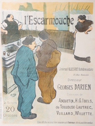 For sale: L'ESCARMOUCHE JOURNAL ILLUSTRÉ GEORGES DARIEN 20 CTS