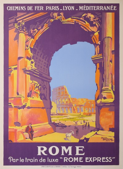 For sale: ROME PAR LE TRAIN DE LUXE ROME-EXPRESS PLM
