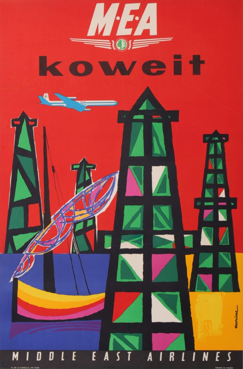 For sale: MIDDLE EAST AIR LINE - MEA - KOWEIT