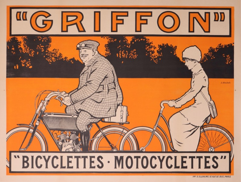 For sale: GRIFFON BICYCLETTES - MOTOCYCLETTES
