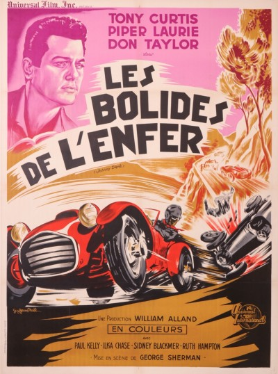 For sale: LES BOLIDES DE L'ENFER TONY CURTIS JOHNNY SARK